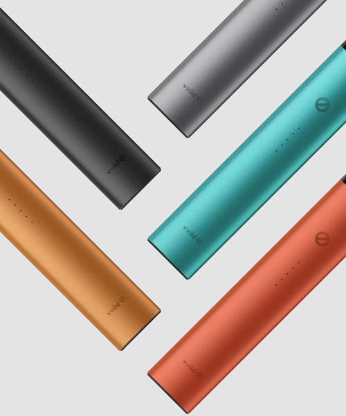 vvild小野V2电子烟套装5种颜色图